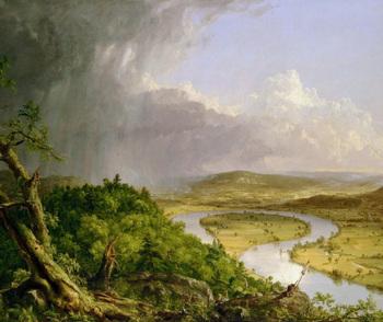 Hudson River School Art - Landscape Painting SHOW + TEST = 266 Slides America
