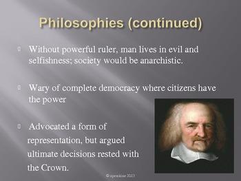 Thomas Hobbes PowerPoint