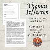 Thomas Jefferson: Views for America