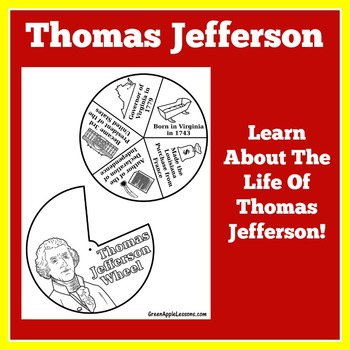 Thomas Jefferson Biography | Thomas Jefferson Craft | Thomas Jefferson Activity