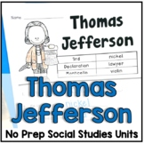 Thomas Jefferson Facts and Timelines