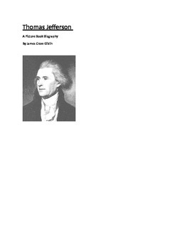 Thomas Jefferson-A Picture Book Biography