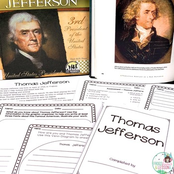Thomas Jefferson Activities and Assessments