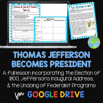 Thomas Jefferson Becomes President: Election of 1800