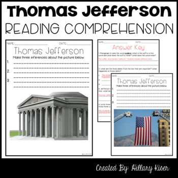 Leveled Text X: Thomas Jefferson