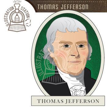 Thomas Jefferson Clip Art