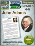 John Adams Reading Comprehension