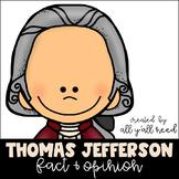 Thomas Jefferson Fact and Opinion