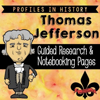 Thomas Jefferson Guided Research Activity