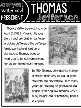 Thomas Jefferson (Henry the Historian's Famous Americans Series)
