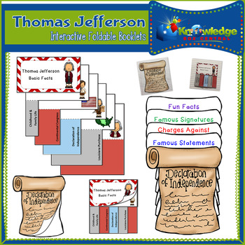 Thomas Jefferson Interactive Foldable Booklets - EBOOK