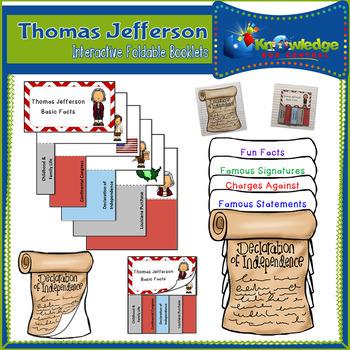 Thomas Jefferson Interactive Foldable Booklets - EBOOK
