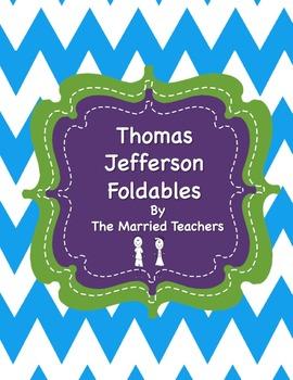 Thomas Jefferson Interactive Historical Figure Foldables