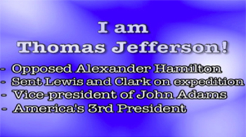 President Thomas Jefferson - Music Video Bundle (with quiz)