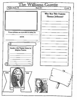 Thomas Jefferson Newpaper