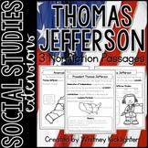 Thomas Jefferson Nonfiction Passages (Text Features Identi