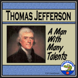 Thomas Jefferson Biography PowerPoint Informational Text Distance Learning