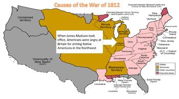 Thomas Jefferson, War of 1812, and Andrew Jackson