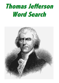 Thomas Jefferson Word Search