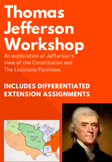 Thomas Jefferson Workshop