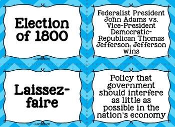 Thomas Jefferson, James Madison, War of 1812 Flash Cards