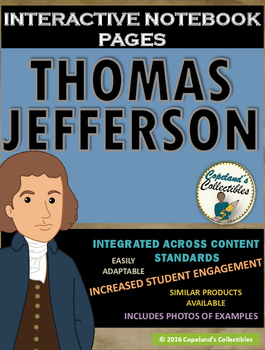 Thomas Jefferson's Interactive Notebook Pages