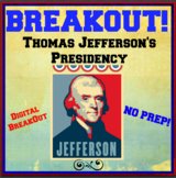 Thomas Jefferson's Presidency BreakOut