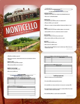 THOMAS JEFFERSON: Tour of Monticello Webquest