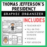 Thomas Jefferson's Presidency: Graphic Organizer