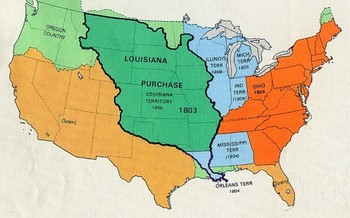 thomas jefferson louisiana purchase