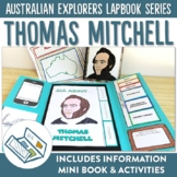 Thomas Mitchell Australian Explorers Lapbook Series