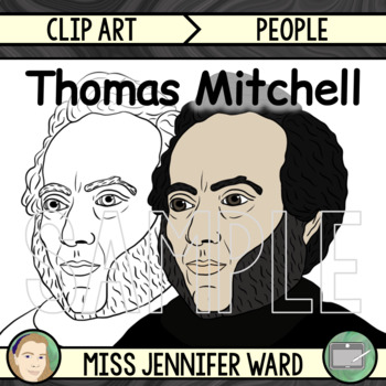 Thomas Mitchell Clip Art