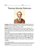 Thomas Mundy - First African American to vote review lesson facts info