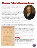 Thomas Paine Common Sense Analysis