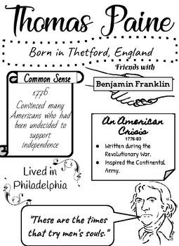 Thomas Paine Doodle Notes