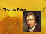 Thomas Paine:  His Life and Works 31 Slides