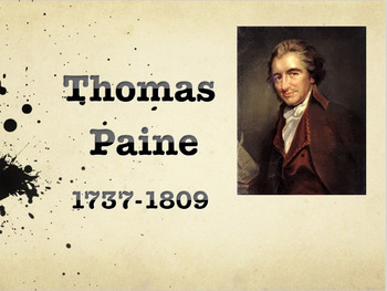 Thomas Paine PPT: Life and Common Sense