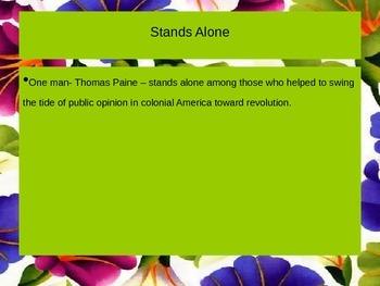 Thomas Paine PowerPoint