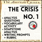 Thomas Paine's The Crisis No. 1 Questions, Prompts, SOAPTo