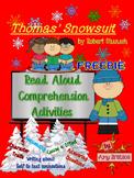 Thomas' Snowsuit by Robert Munsch - CCSS aligned Comprehen