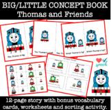 Thomas the Train Big/Little Concept Book