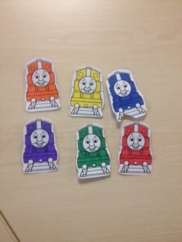 Thomas the Train Matching Activity