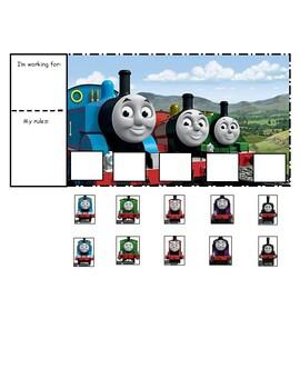 Thomas the Train Token Board