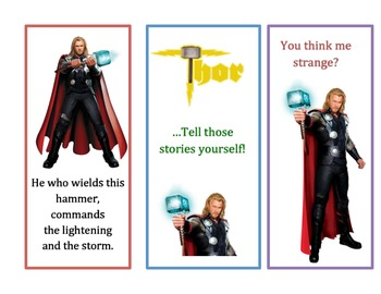 Thor Bookmarks