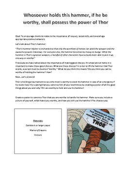 Thor Campaign Poster