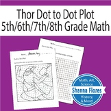 Thor Dot to Dot, Connect the Dots, Graphing Ordered Pairs,