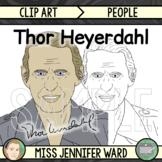 Thor Heyerdahl Clip Art