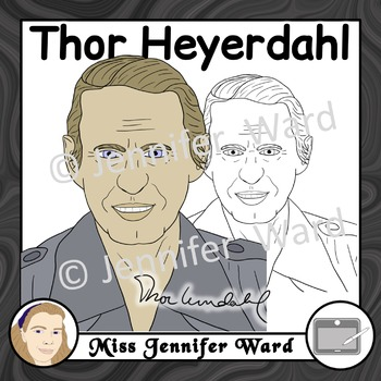 Thor Heyerdahl Clipart