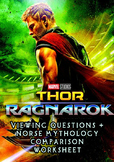 Thor: Ragnarok Teaching Packet (Viewing Guide + Norse Mythology Worksheets)