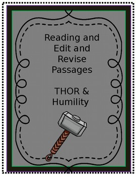 Thor Test Prep: Reading and Edit/Revise